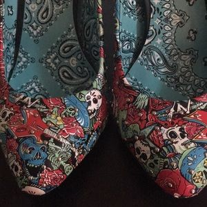 Iron Fist day of the dead heels